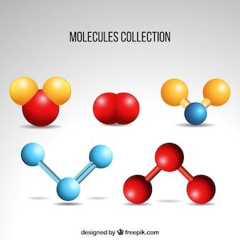 Pack de componentes moleculares de colores
