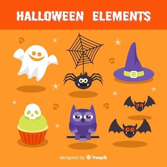 Pack de elementos de halloween