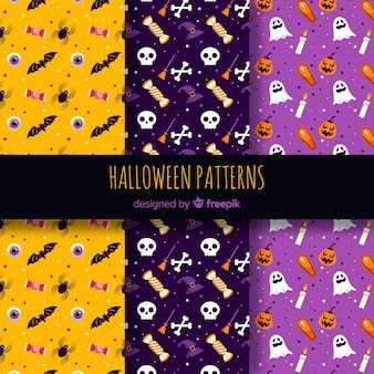 Pack de patrones de halloween
