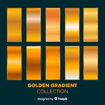 Pack degradado dorado brillante