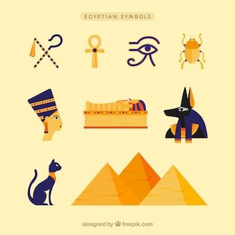 Pack de dioses y símbolos egiptos