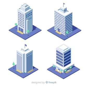 Pack de edificios de oficina