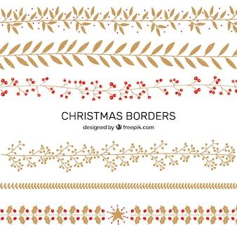 Pack de elementos decorativos navideños