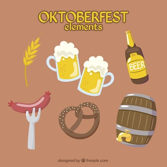 Pack de elementos esenciales para oktoberfest