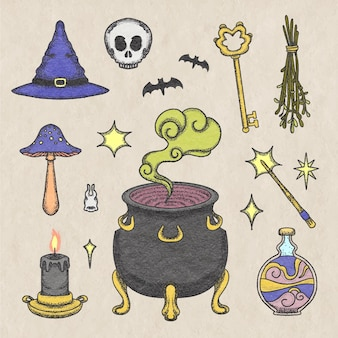 Pack de elementos esotéricos interesantes.