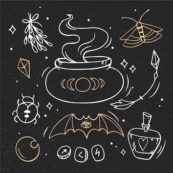 Pack de elementos esotéricos