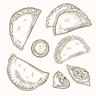 Pack empanada