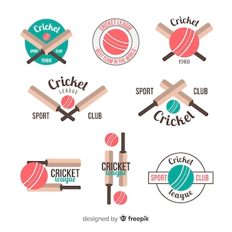 Pack de etiquetas de cricket