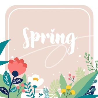 Pack de flores de primavera