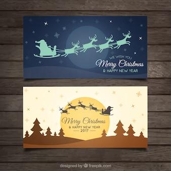 Pack de flyers de navidad