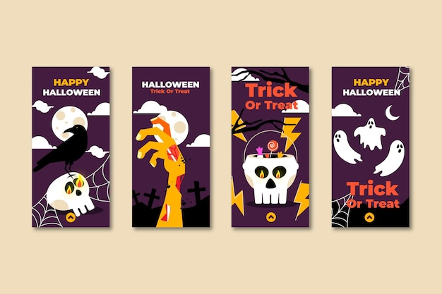 Pack de historias de instagram para halloween