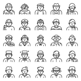 Pack de iconos de avatar