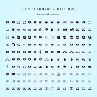 Pack de iconos de ordenador en formato vectorial