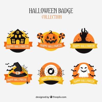 Pack de insignias de halloween
