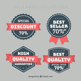 Pack de insignias retro de calidad suprema y descuentos