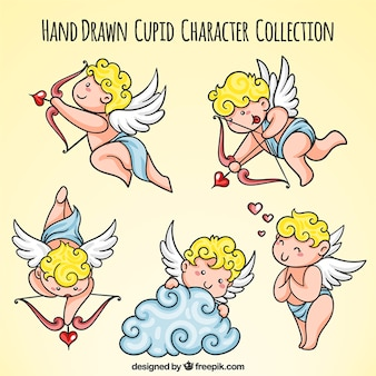 Pack de lindos personajes de cupido