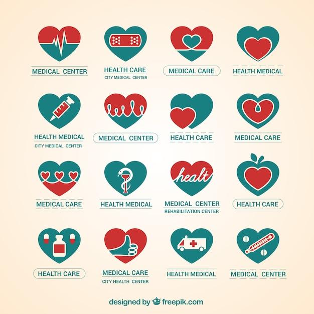 Pack de logos de centros médicos