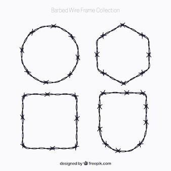 Pack de marcos de alambre de espina