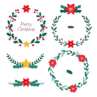 Pack marcos y bordes navideños