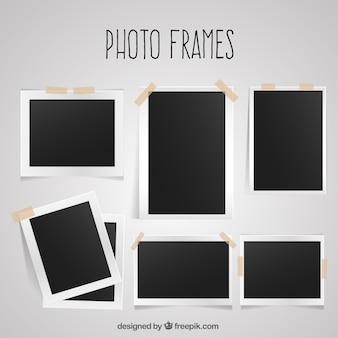 Pack de marcos sencillos de fotos