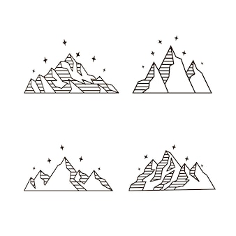 Pack de montaña monoline