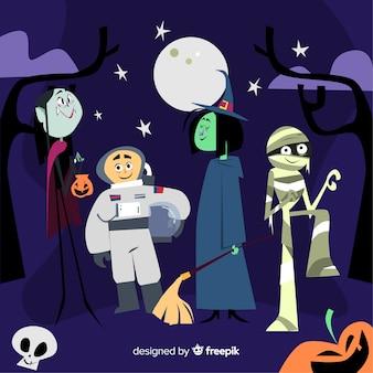 Pack de niños de halloween