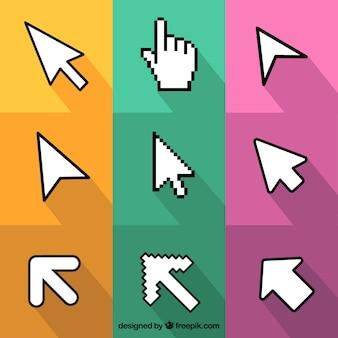 Pack de nueve cursors