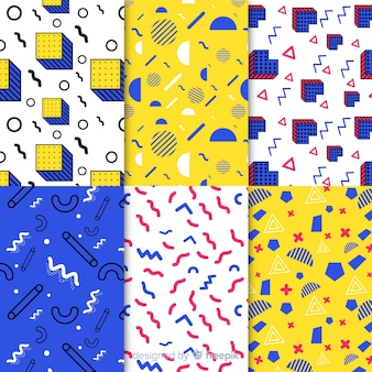 Pack de patrones sin fisuras de memphis