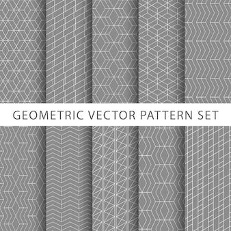 Pack de patrones geométricos de lujo
