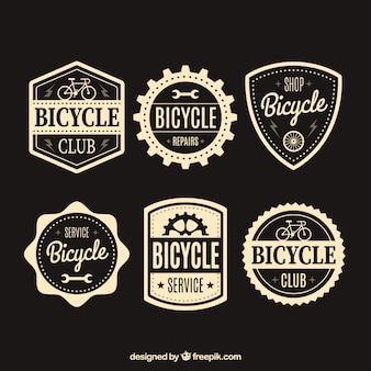 Pack de pegatinas vintage de bicicletas