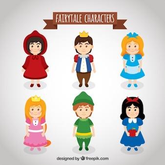 Pack de personajes famosos de cuento
