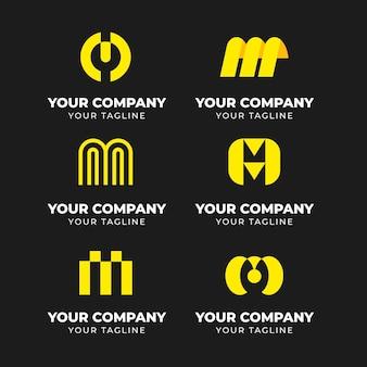 Pack de plantillas con logos m