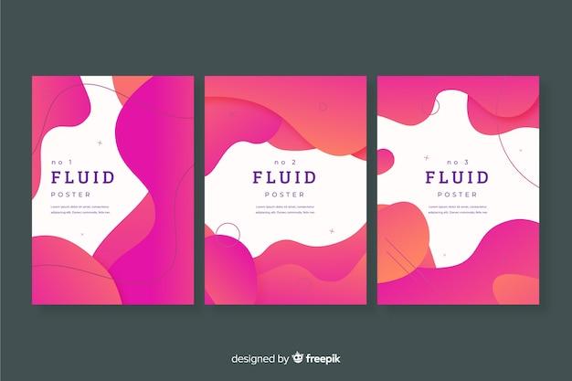 Pack poster formas fluid
