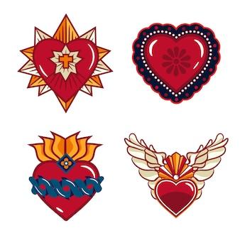 Pack sagrado corazón