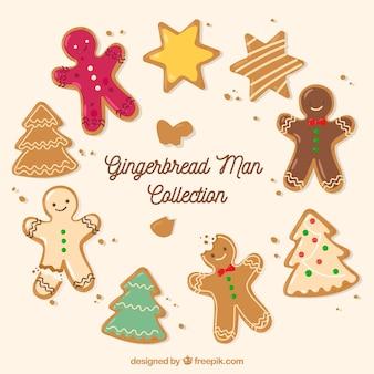Pack de simpáticas y deliciosas galletas de jengibre