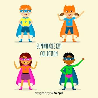 Pack de superheroes niños