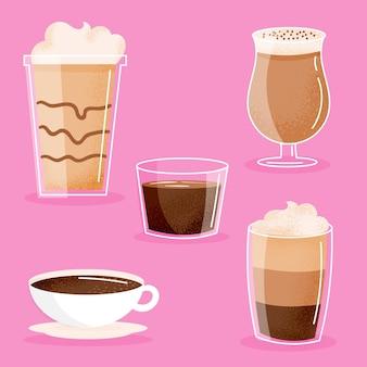 Pack de tipos de cafe