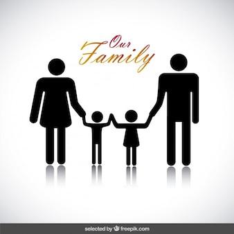 Los padres con niños