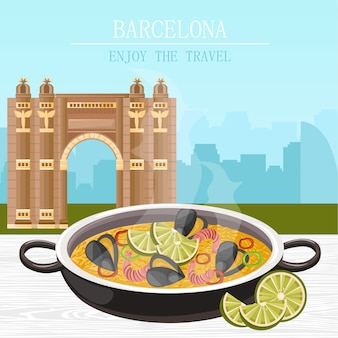 Paella plato nacional español