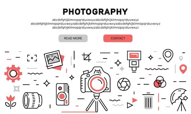 Página de aterrizaje de fotografía
