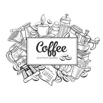 Página del café