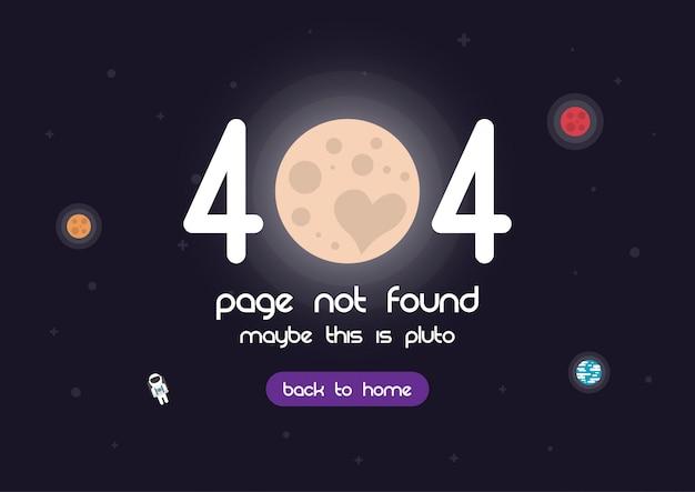 Página de error 404