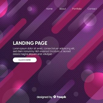 Página de inicio abstracta