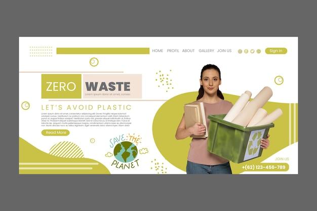 Página de inicio de cero desperdicios