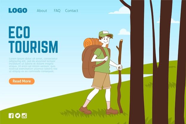 Página de inicio de ecoturismo