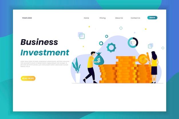 Página de inicio de investment innovation