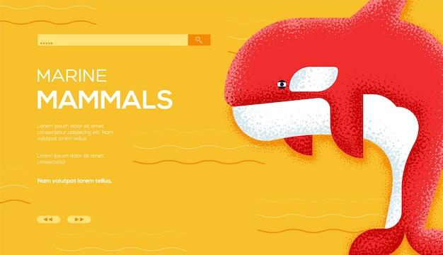 Página de inicio de mamíferos marinos