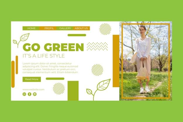 Página de inicio del medio ambiente