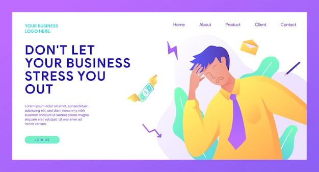 Página de inicio de negocios