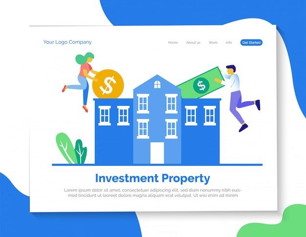 Página de inicio de propiedad de inversión